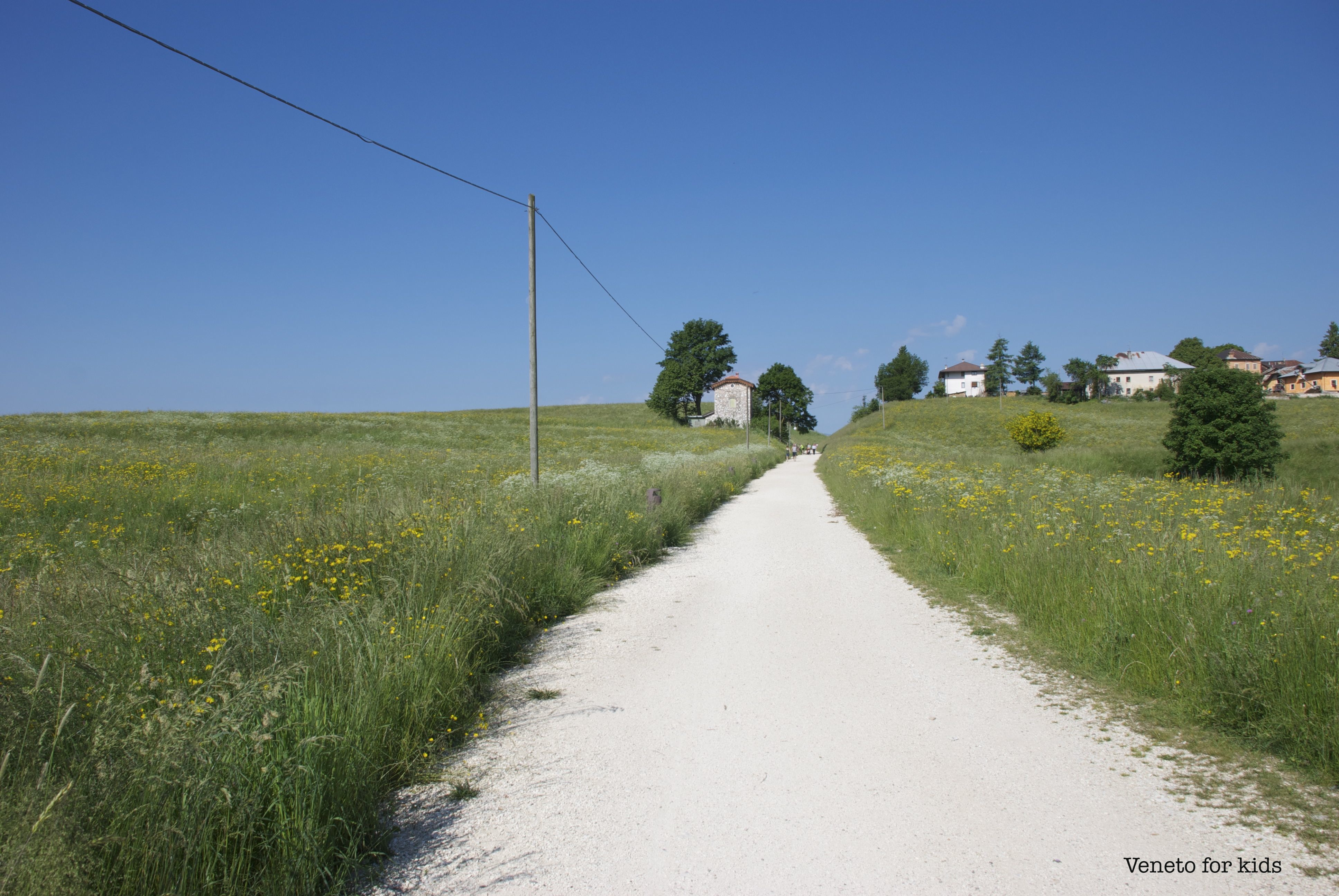 strada del vecchio trenino