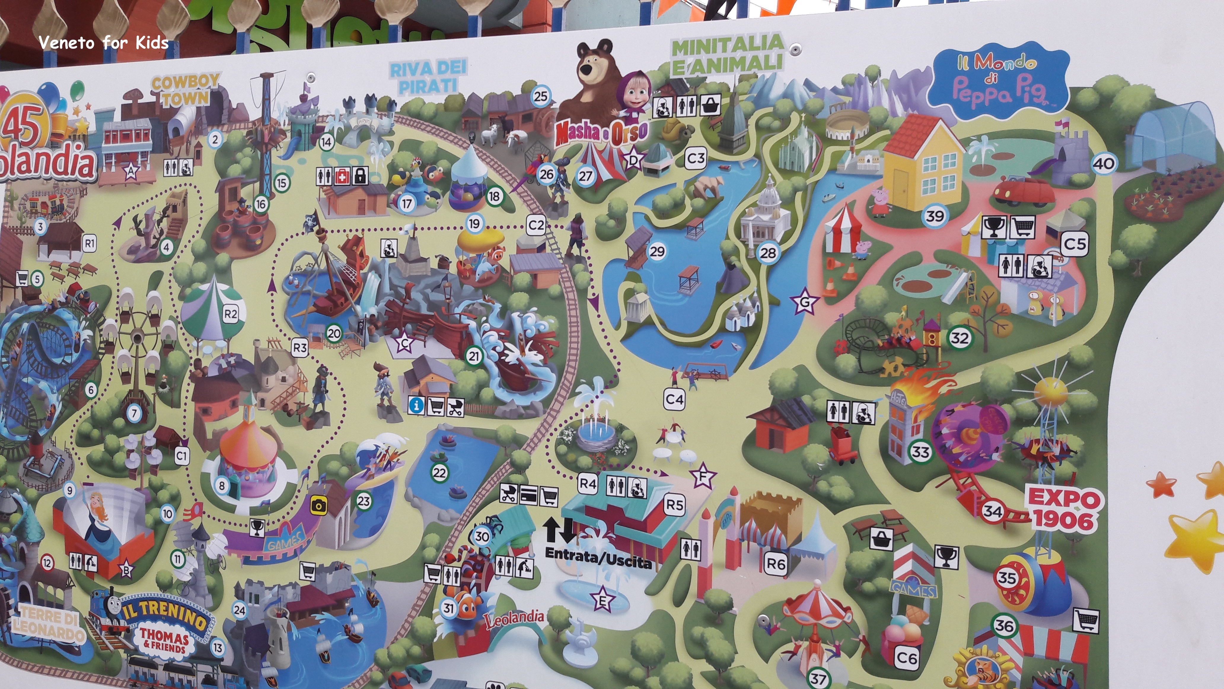 mappa leolandia