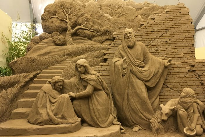 Sand Nativity Jesolo