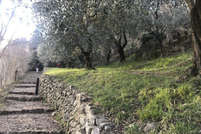 passeggiata al castello superiore