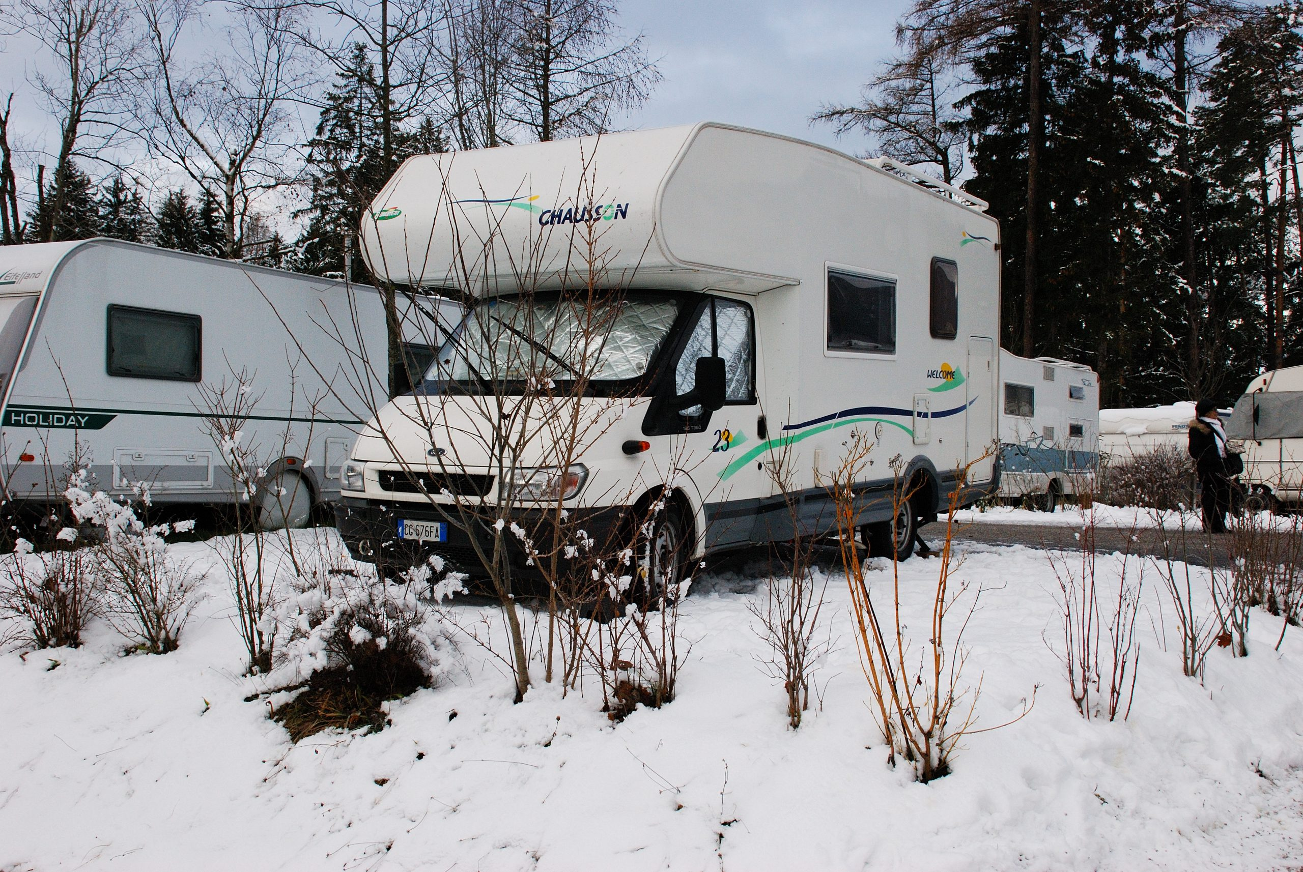 Innsbruck in camper