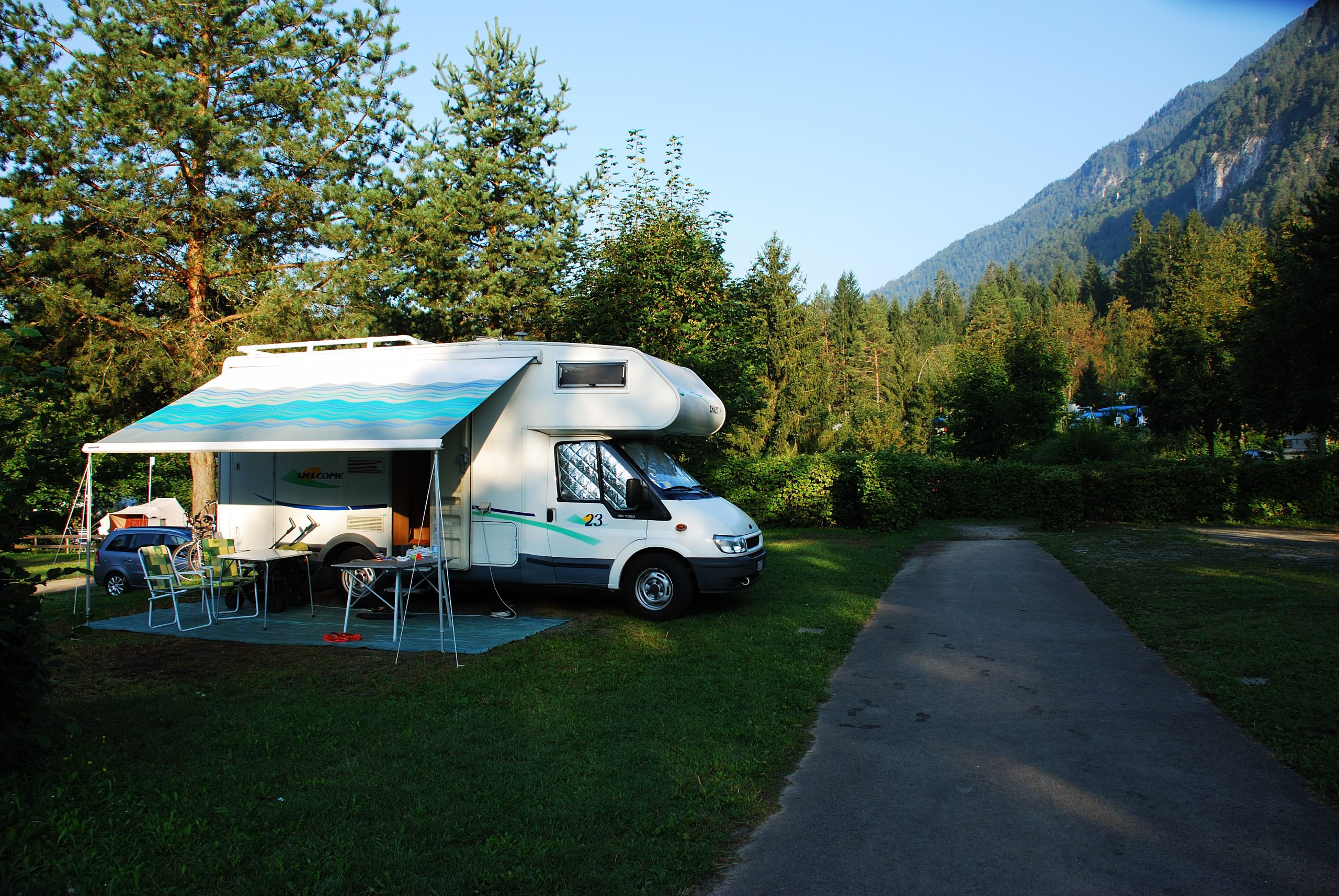 Pressenger See Austria camper