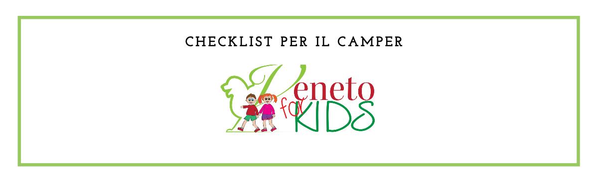 checklist per camper