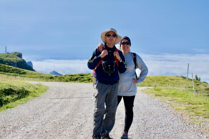 trekking a Passo Rolle