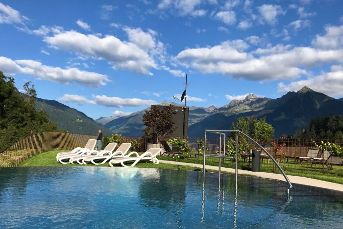 piscina Camping Hermitage