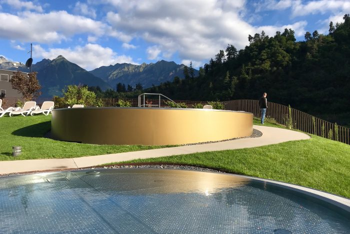 piscine Camping Hermitge