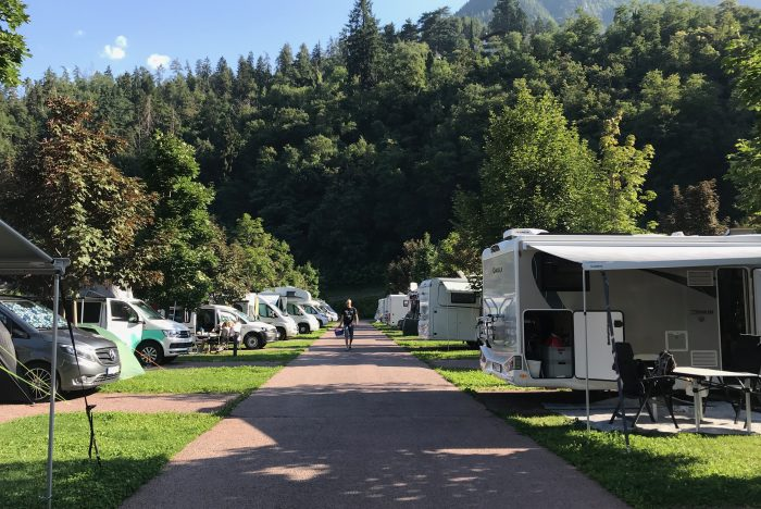 piazzole Camping Hermitage