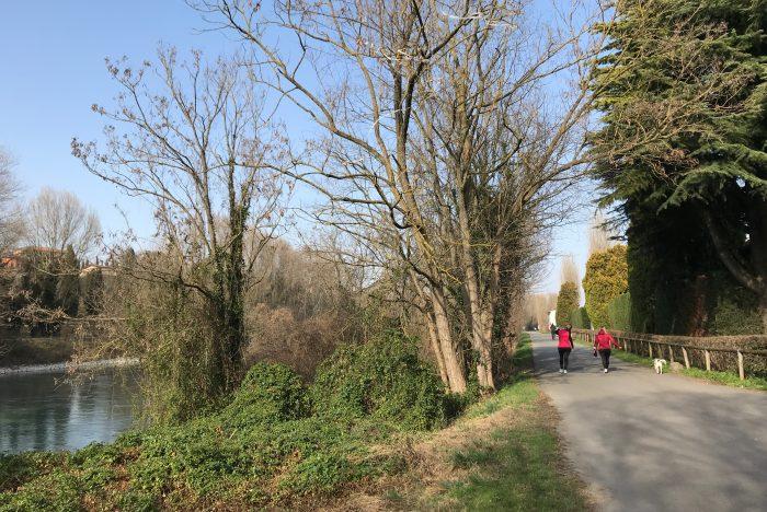 pista ciclabile Peschiera Mantova